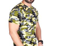 Pack of 3 - BSF Camouflage T-Shirts - COMBO (Dark Green, Premium Green & Coffey)