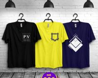 Pack Of 3 - Official PV , Mini Pocket & Premium STS Combo T-Shirts