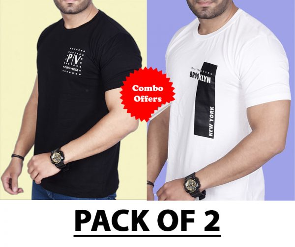 Pack Of 2 - Official PV & Brooklyn NY Combo T-Shirts